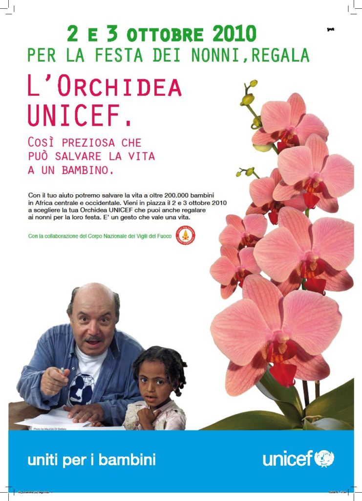A CURA DELLA PRO LOCO IL 2 E 3 OTTOBRE 2010 – FESTA DEI NONNI – ORCHIDEA UNICEF