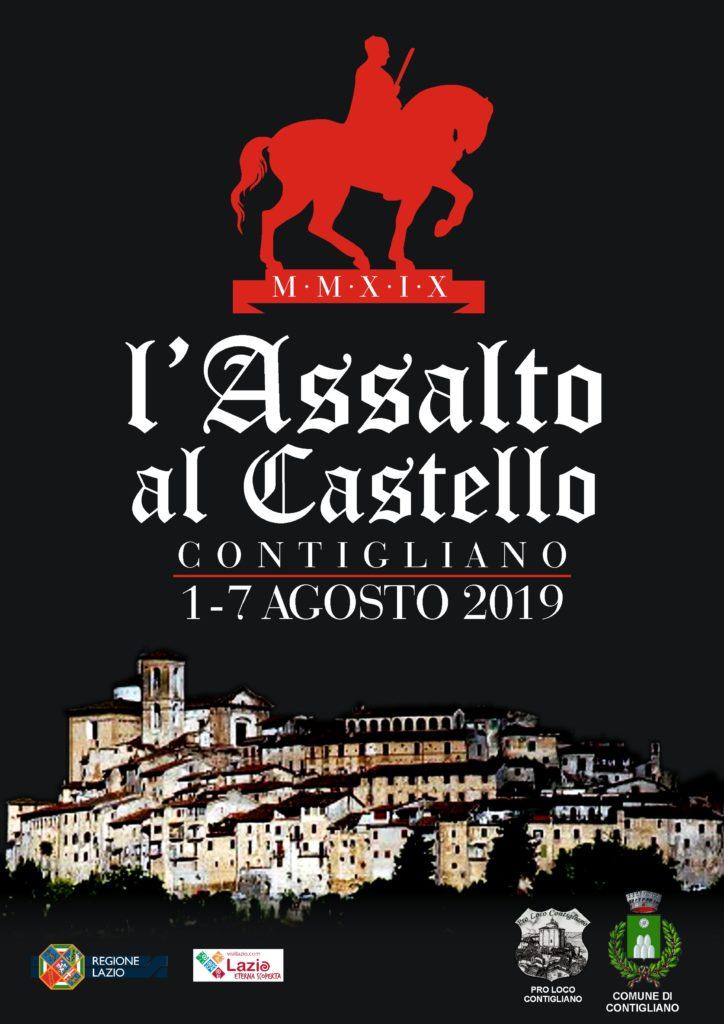 ASSALTO AL CASTELLO 2019 – dal 1 al 7 agosto 2019