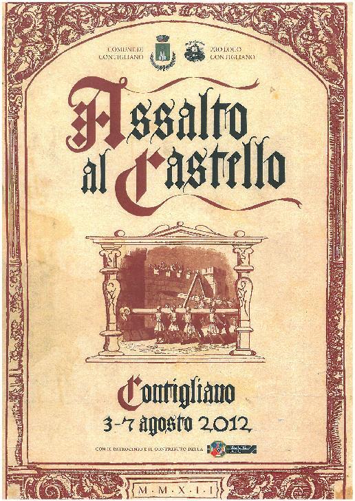 ASSALTO AL CASTELLO 2012