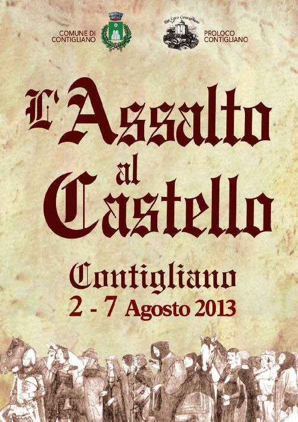 ASSALTO AL CASTELLO 2013
