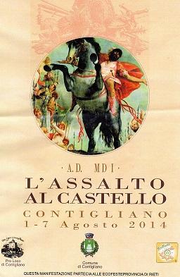 ASSALTO AL CASTELLO 2014